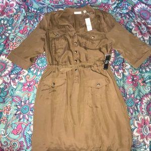 Bronze, New York & Company Dress